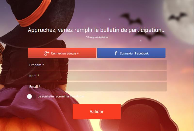 Jeux concours en ligne